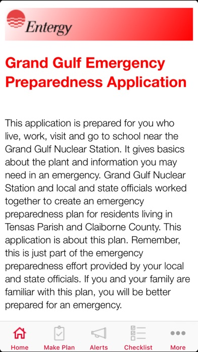 Grand Gulf Public Information screenshot #1