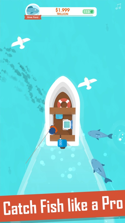 Hooked Inc: Fisher Tycoon screenshot-0