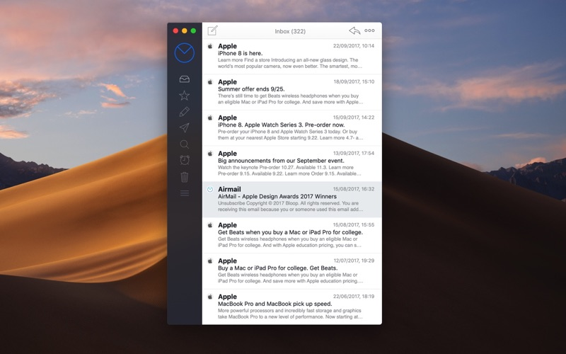 Airmail Screenshot