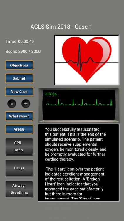 ACLS Simulator 2018 screenshot-4