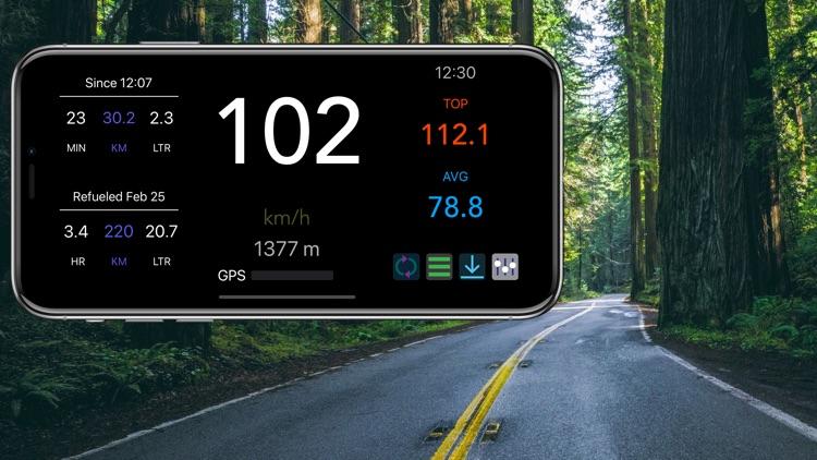 MySpeed - Speedometer & Fuel screenshot-7