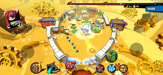 Zombie Rollerz: Pinball Heroes na App Store