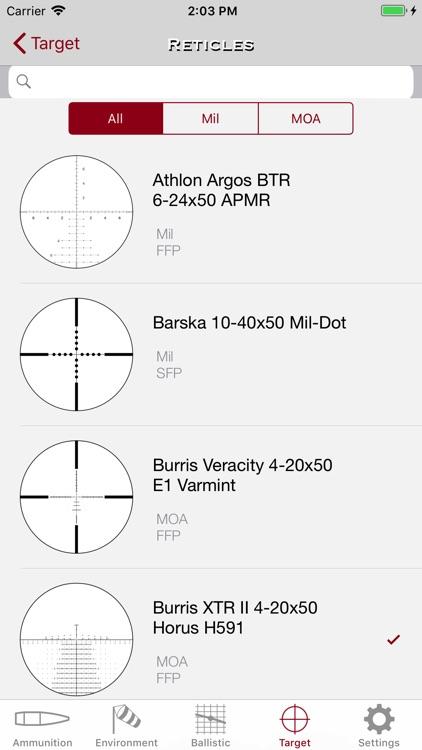 SBC - Ballistic Calculator app screenshot-9