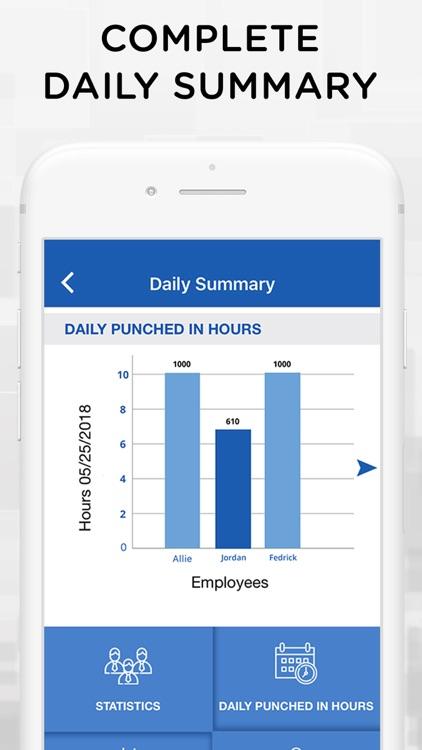 iTimePunch Plus Time Sheet App screenshot-8