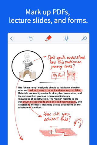 Screenshot of Notability