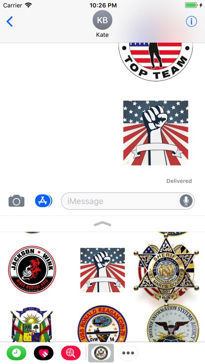 Symbols USA Stickers screenshot-3