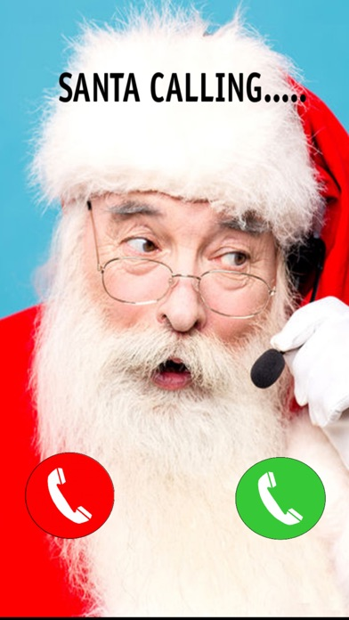 Screenshot for Calling From Santa in Ukraine App Store