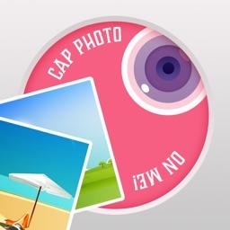 Emojis Cap - Add Custom Text & Sticker to Photos