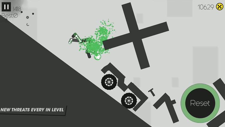 X-Stickman  Dismounting screenshot-3
