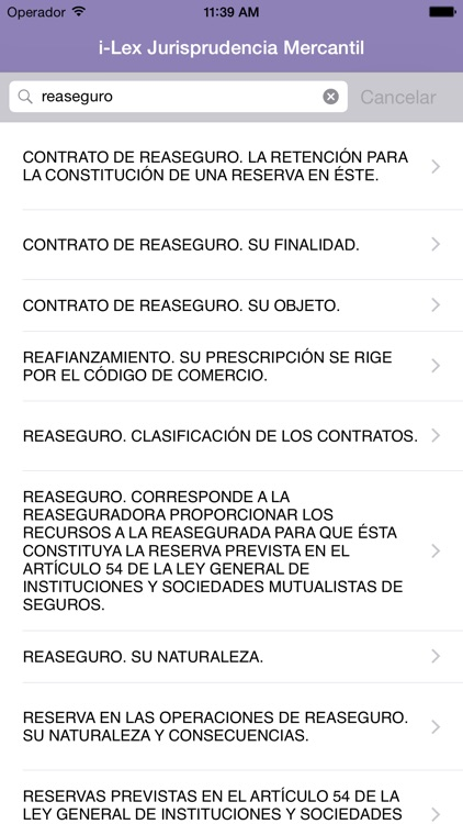 i-Lex Jurisprudencia Mercantil screenshot-2