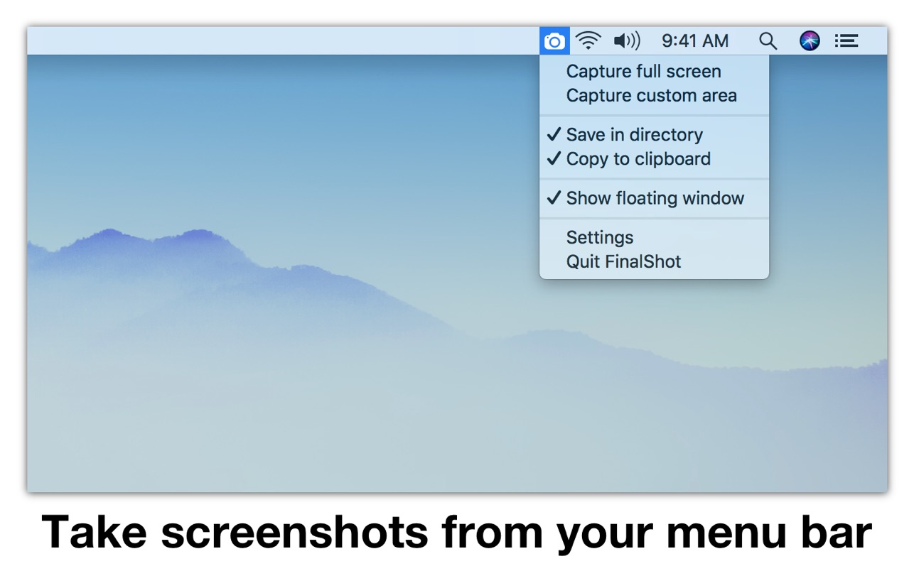 FinalShot for Mac 1.2 破解版 - 屏幕截图工具