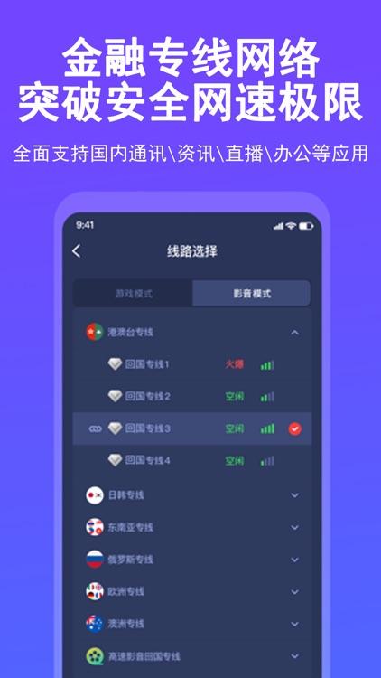 QuickFox加速器-海外华人回国加速器 screenshot-3
