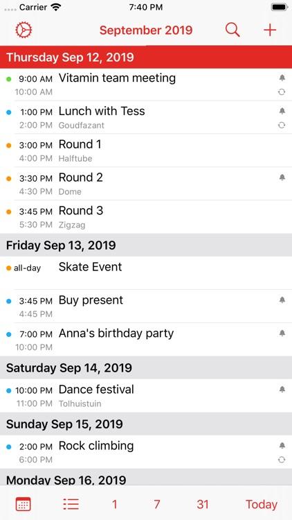 Calalarm - Calendar screenshot-8