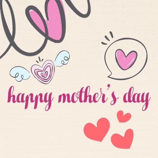 Happy Mother Day Stickers