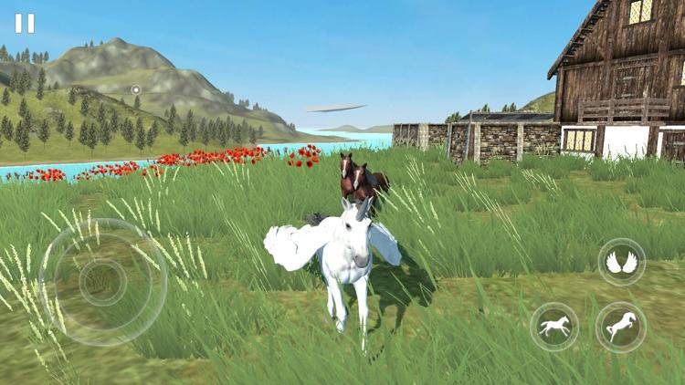 Flying Unicorn Simulator 2021 screenshot-6