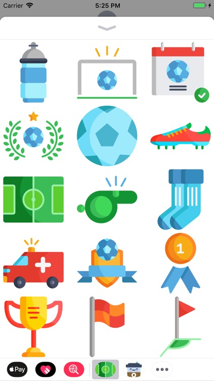 Awesome Soccer Stickers