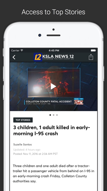KSLA News 12 Local News screenshot-1