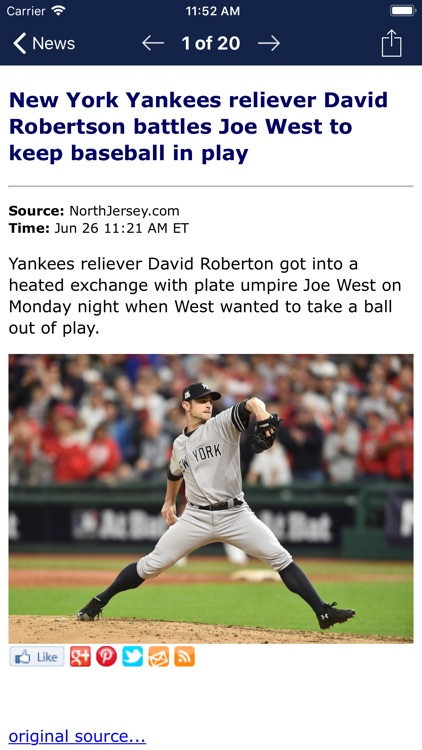 Baseball News - MLB edition