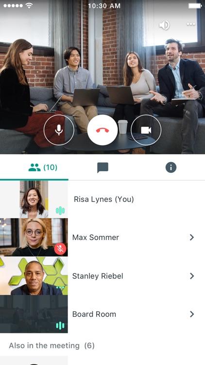 Hangouts Meet screenshot-3