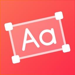 Add Text: Write On Photos