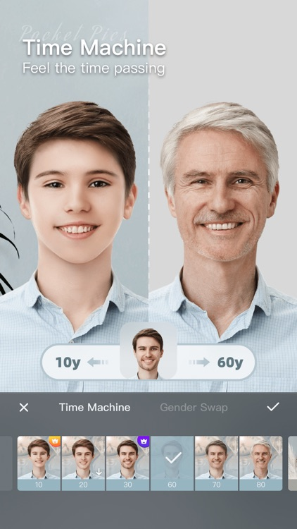 PocketPics-Animate Face Editor