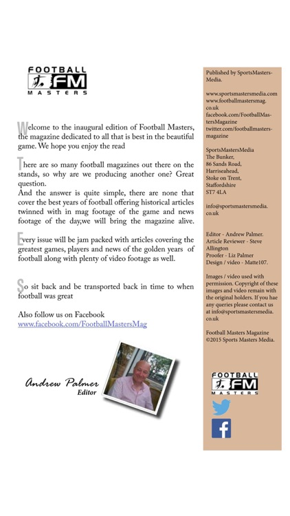 Football Masters Magazine screenshot-2