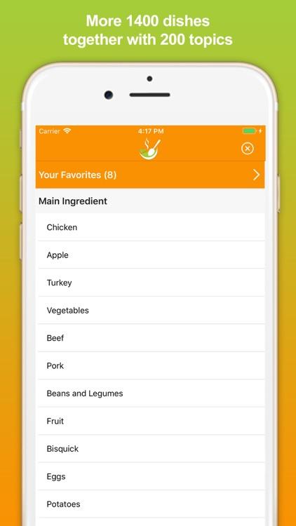Cooking Recipes - Meal Ideas screenshot-4