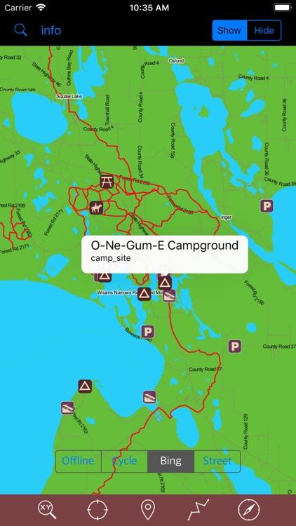 Chippewa National Forest – GPS