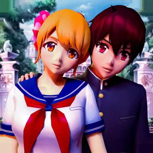 Anime High School Girl Love 3D