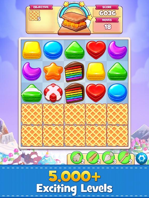 Cookie Jam: Match 3 Games iPad app afbeelding 2
