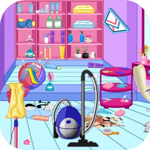 Уборка в парикмахерской