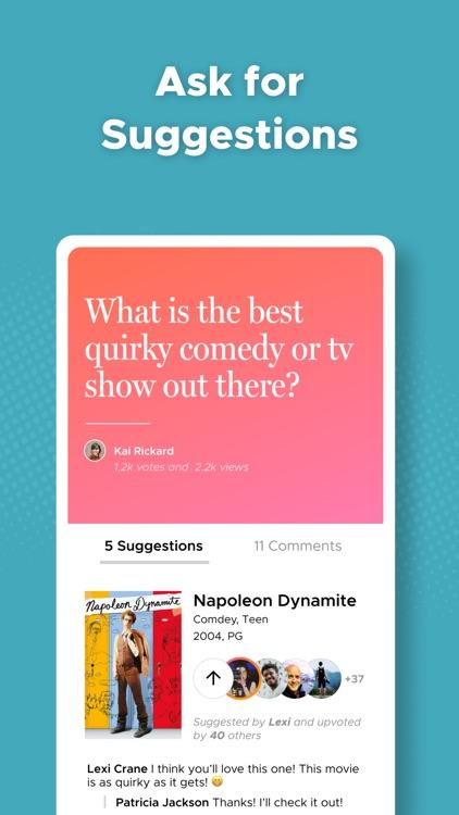 Likewise: Movie, TV, Book Recs screenshot-6