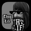 Thug Life 写真 編集者 ステッカー メーカーアイコン