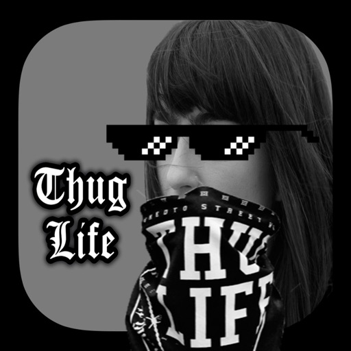 Thug Life photo sticker