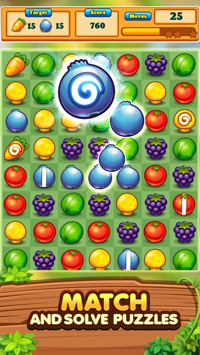 Garden Blast! Puzzle Adventure screenshot 1