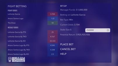 World Title Boxing Manager screenshot #3