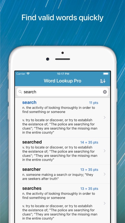 Word Lookup Pro screenshot-0