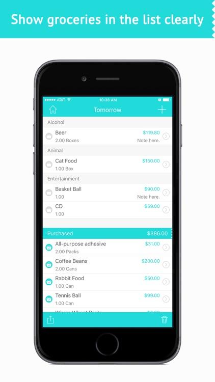 Grocery List- Gift & Food List