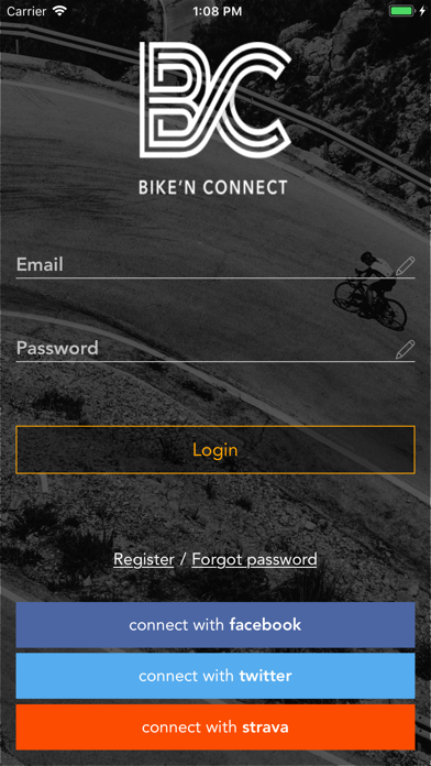 Bike'n Connect screenshot one