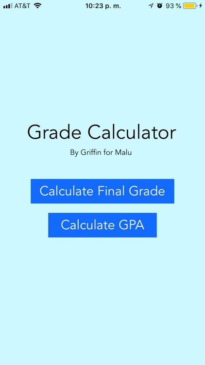 Grade Calculator (GC)