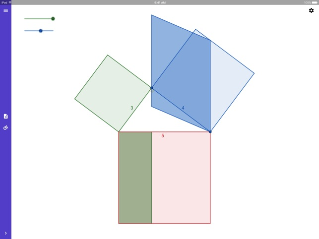 GeoGebra Geometrie Screenshot