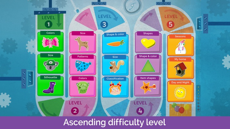 Sorting Puzzles for Kids screenshot-1