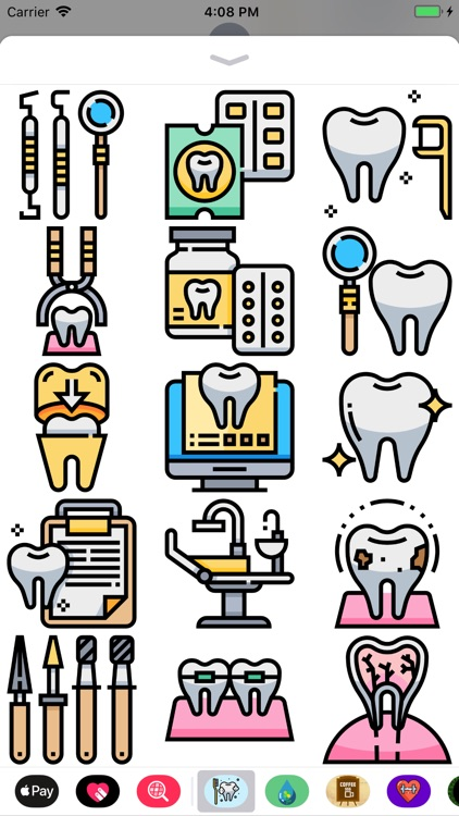 Denist Stickers - No Cavities screenshot-3
