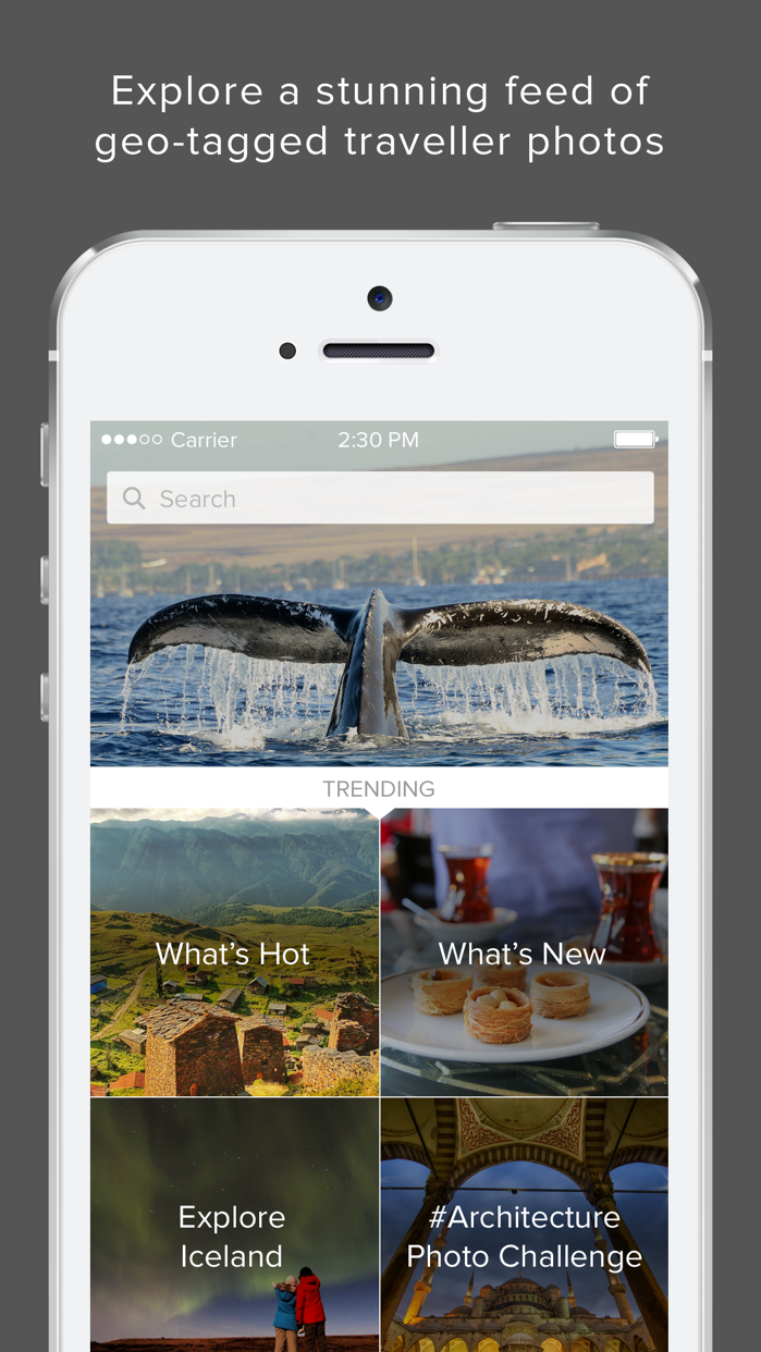 Trover - Photo App for Travel Screenshot