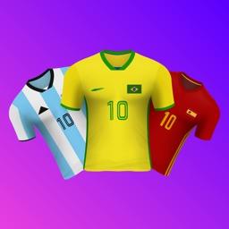 World Soccer Football Jersey