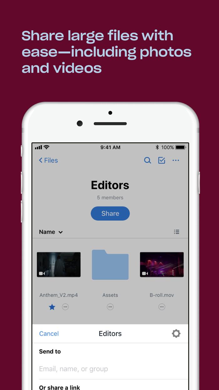 Dropbox Screenshot