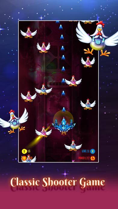 Captain Galaxy: Chicken Attack 5