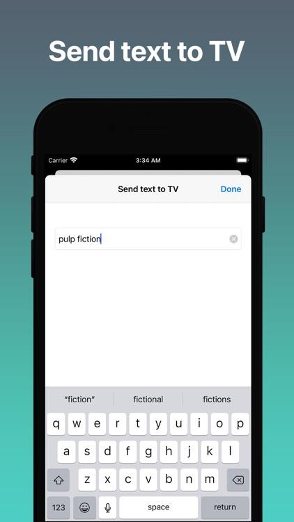 TV Remote & Cast - TV Control screenshot-4