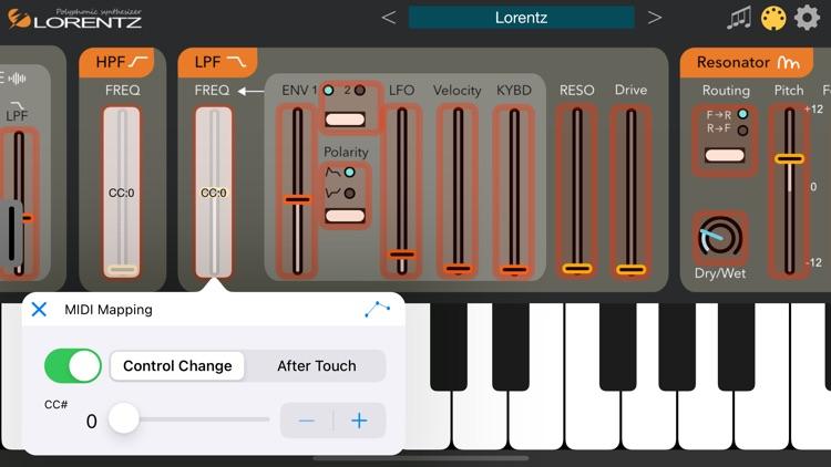 Lorentz - AUv3 Plugin Synth screenshot-8