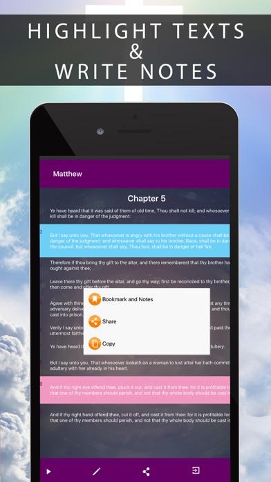 Bible@ screenshot 1